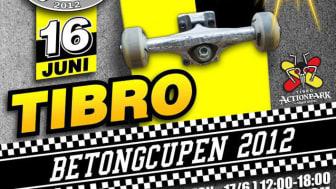 Betongcupen i Tibro lördagen den 16 juni