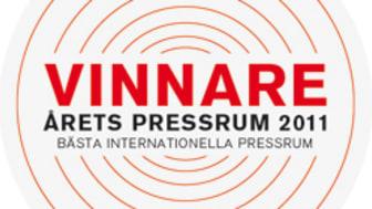 Saint-Gobain Abrasives vinnare av Årets Pressrum 2011