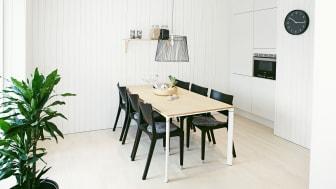 Köket i One Tonne Life-huset