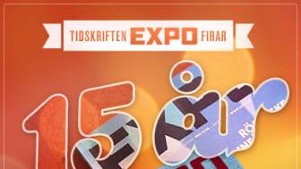 Artister uppträder gratis på Expos 15 år fest