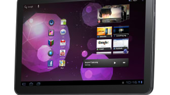 Säljstart för Samsungs nya surfplatta Galaxy Tab 10.1
