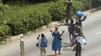 Rädda Barnen slår larm om katastrofen i Elfenbenskusten