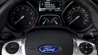Ford MyKey kommer till Europa under 2012, ger oroliga föräldrar kontroll och minskar riskerna för unga förare