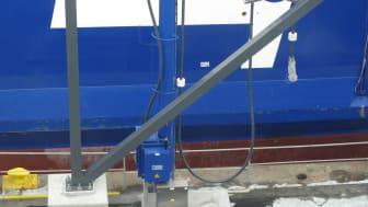 Cavotec AMP unit at the Port of Gothenburg