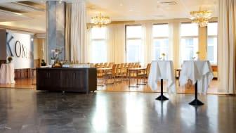 Presslunch med Bicky Chakraborty på Elite Palace Hotel i Stockholm