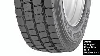 Goodyear lancerer Ultra Grip WTT.   Dækket der fuldender den ultimative vinterdækfamilie til lastbiler