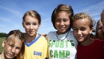 Friends på plats vid årets Stadium Sports Camp