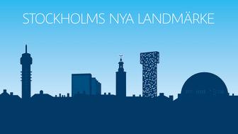 Scandic Victoria Tower blir Stockholms nya landmärke