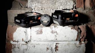 Rå batteridriven kraft med Pro Lithium batteriteknologin från AEG Powertools