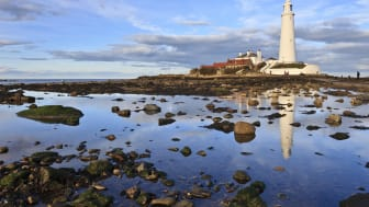 St. Mary's Lighthouse at Whitley Bay - one of the locations for The Shakespeare Club's tour