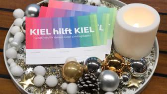 Eine perfekte Geschenkidee und gleichzeitig ein wichtige Hilfe für die Kieler Läden