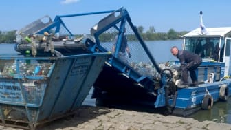 Oprensning af floder for plastikaffald (Audi Environmental Foundation)