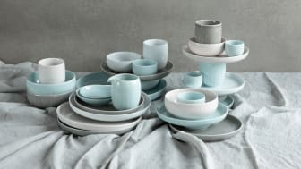 The new Joyn colour Mint Green fits perfectly into the colour pallette of the Arzberg collection.