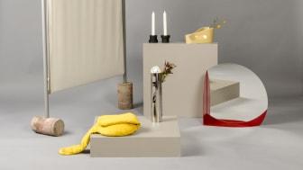 Sju produkter av formstudenter vid Beckmans Designhögskola