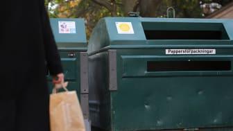 En stor del av det som lämnas till återvinning hamnar fel