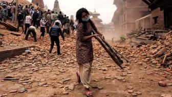 INDISKAs kunder Rundar Upp till förmån för Röda Korsets arbete i jordbävningsdrabbade Nepal