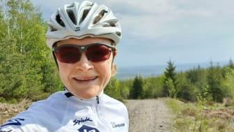 Halland är en framtida mountainbikedestination menar Nellie Larsson.