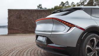 Fastställd dragkapacitet för el-crossovern Kia EV6