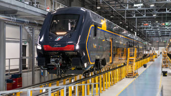 Rock, the new regional train