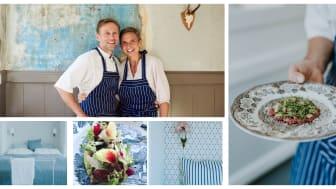 Katrine og Morten Arnfeldt glæder sig over optagelsen i Gastro Fyn samarbejdet.