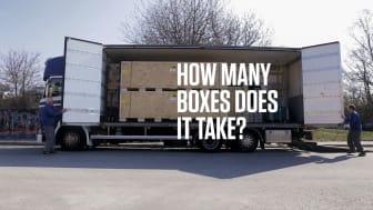 En unboxing i stor skala.❤ Många boxar och samarbete hos Canons serviceteam.