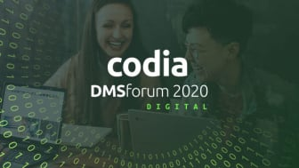 Das codia DMSforum findet in diesem Jahr online statt. Bild: codia Software GmbH