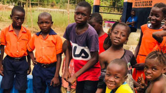 First Sierra Leonean borehole project in 2021 handed over to school children