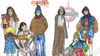Designs by Alicia Hill, one of the Northumbria graduates whose work will be on show during London Fashion Week.