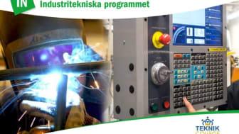 Pressinbjudan - Industritekniska programmet ger en bra start i arbetslivet