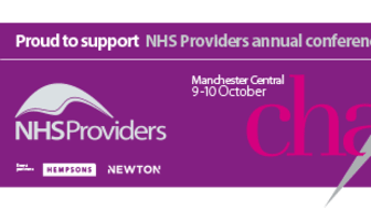Finegreen exhibiting  at the NHS Providers Annual Conference 2018