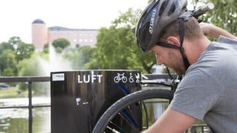 Uppsala kommun är en av de nya kommunerna på topplistan. De har bland annat arbetat mycket med cykeltrafiken i staden. Foto Ana Vera Burin Batarra