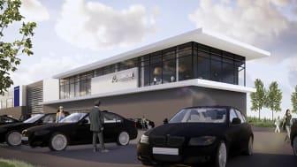 Bilia flytter til Follos nye bilsentrum