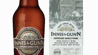 Innis & Gunn Espresso Barley Wine – exklusivt eklagrat Barley Wine smaksatt med mörkrostade kaffebönor