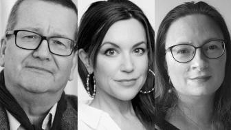 Stig-Björn Ljunggren, Carolin Dahlman och Sanna Rayman kommenterar Framtidsarenan