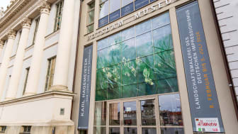"""Der Eingang des Potsdam Museum befindet sich auch in der Nähe vom Museum Barberini, so das man die laufende Monet-Ausstellung mit einem Besuch bei """"Hagemeister"""" kombinieren kann. Foto: TMB-Fotoarchiv/Steffen Lehmann."""