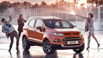 Megérkezett Magyarországra a vadonatúj Ford EcoSport