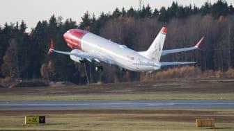 Norwegianin Boeing 737 MAX (Kuva: David Peacock)