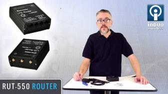 Presentation av RUT-550 4G router