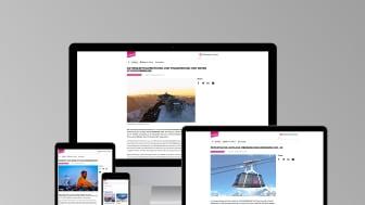 Der neue Newsroom der Schilthornbahn AG ist online