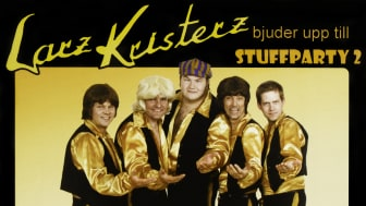 "Omslag - Larz-Kristerz ""Stuffparty 2"""