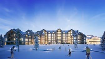 Nya SkiStar Lodge Hundfjället. Källa: SkiStar