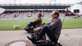 Bosse & Ewald Lienen Kopf an Kopf beim 1. sozialen E-Kartrennen
