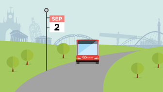 Service changes from 2 and 9 September 2018