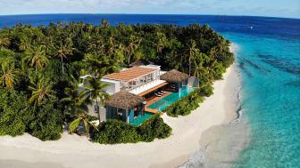 Höchste Privatsphäre: Die neue Royal Residence im Raffles Maldives Meradhoo © Lobo Studio Virtual Reality, S.L/ Adrián Gómez Ortega