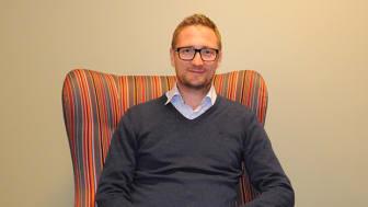 Erik Grönlund, VD för Modum Konsult AB, ser flera fördelar med att vara en del av Science Park Skövde.