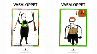 Konstnären Kerstin Bergman från Gagnef gör 2017 års Vasaloppsmotiv