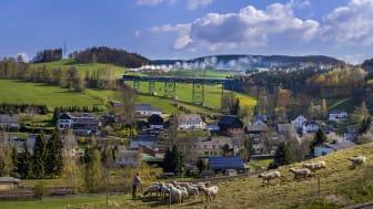 Erzgebirgische Aussichtsbahn EAB (Foto: TVE/Uwe Meinhold)