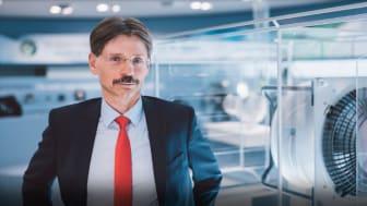 Thomas Sauer, ansvarig för området Digitalisering och Elektronik hos ebm-papst. Foto: Philipp Reinhard.