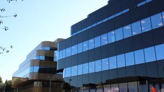 Johanneberg Science Parks kontorshus i södra delen av Chalmers campusområdet.