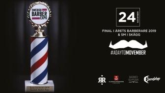 Final i Årets barberare 2018 & SM i skägg går av stapeln på Clarion Hotel Amaranten den 24 november!